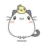 imagenes de gato kawaii